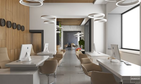 New project from the UBC team, Kyi-Avia office on Khreshchatyk.