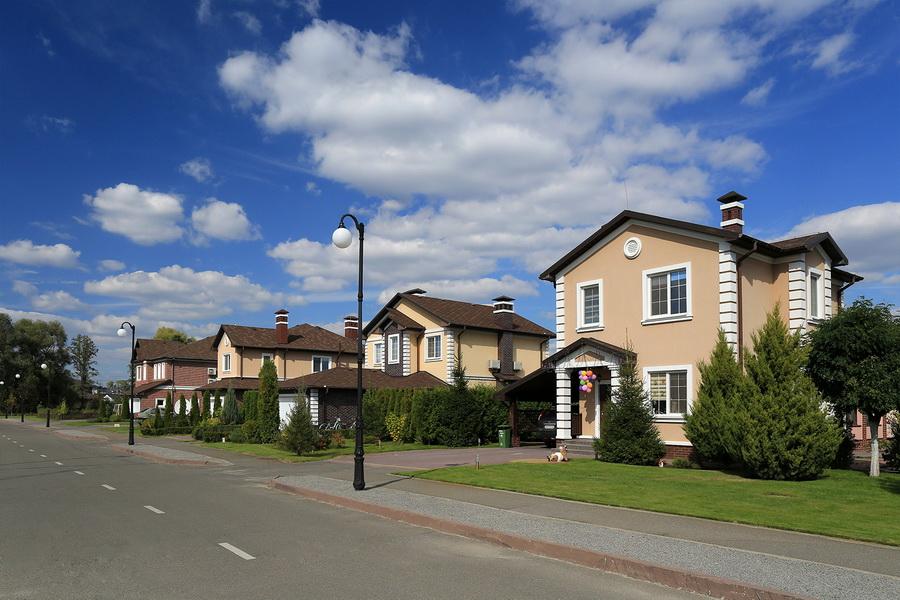 Cottage town Green Hills