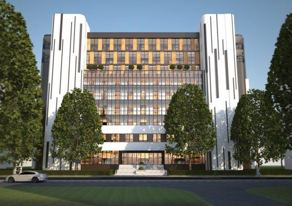 Ю.Бі.Сі. розпочала роботу над проектом багатофункціонального офісного центру в м.Києві